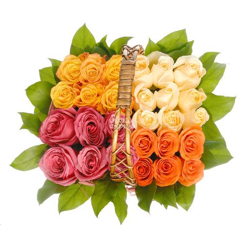 Корзина «Магия роз» - изображение букета 2