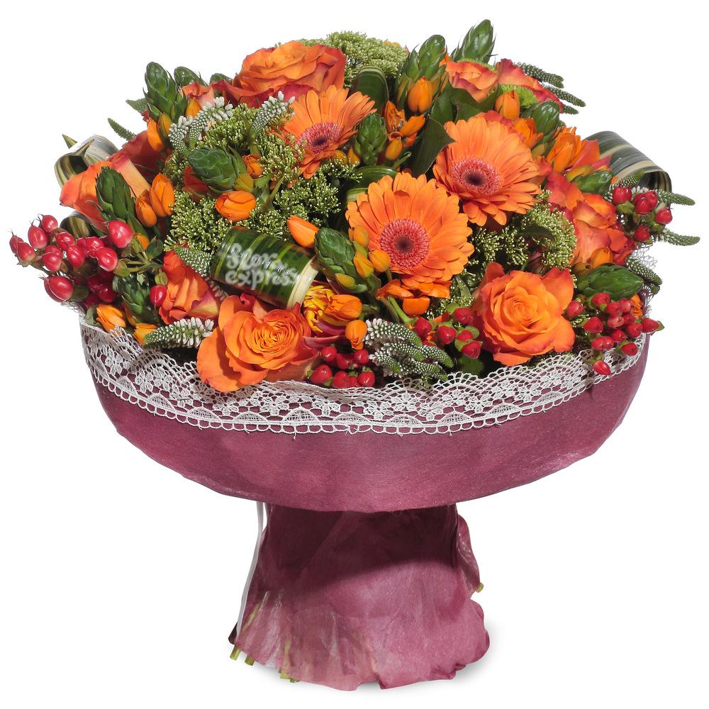 Букет «Flora Express», Оранж