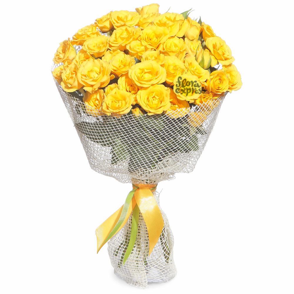Букет «Flora Express», Золотая россыпь
