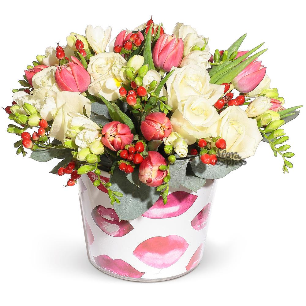 Букет «Flora Express», Сладкий поцелуй