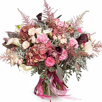 Букет Розовые грёзы